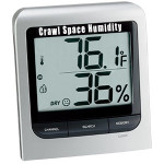 crawl space humidity variation